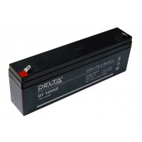 Аккумулятор свинцовый Delta DT12022 (12В; 2,2Ач)