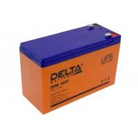 Аккумулятор свинцовый Delta DTM1207 (12В; 7,2Ач) UPS