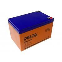 Аккумулятор свинцовый Delta DTM1212 (12В; 12Ач) UPS