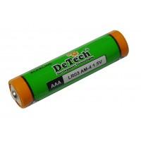 Батарейка LR03 (DeTech)