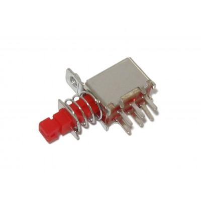Микровыключатель 22F05 (6 ног, горизонтальный)