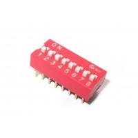 DIP переключатель SWD1- 8 (8-и полосный)