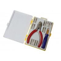 Набор отверток для ремонта мобильных телефонов (15 элементов + кусачки)