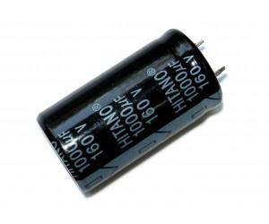 Конденсатор электролитический    1000 мкФ х 160В (105°C) (snap-in) Hitano