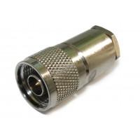 Штекер N под кабель RG-58 (серый металл)
