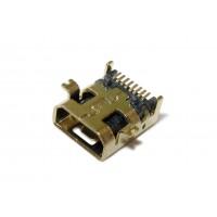 Гнездо mini USB 8P-A монтажное