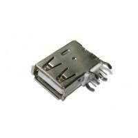 Гнездо USB-A монтажное (тип 1, вертикальное)