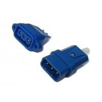 Сетевая контактная пара 702 (синияя, 3 контакта)