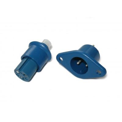 Сетевая контактная пара 704 (синяя, 3 контакта)
