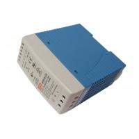 Источник питания 220VAC - 24VDC  2,5А MDR-60-24 (MEAN WELL)