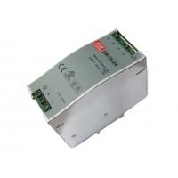 Источник питания 220VAC - 24VDC  3,2А DR-75-24 (MEAN WELL)