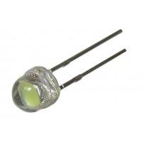 Светодиод ультраяркий  4,8mm HL-654H245WC-MD (белый)
