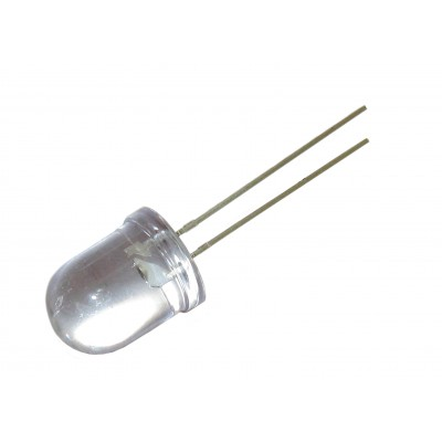 Светодиод ультраяркий 10мм HL-1008H121BC (синий)