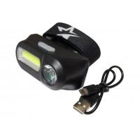Фонарь светодиодный КОСМОС KocH3WDlith 3Вт XPE 3Вт COB (3Вт LED)