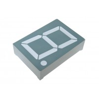 Светодиодный индикатор 1 разряд KEM-15011-BSR (RL-S1520SBAW/D15)
