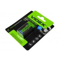 Батарейка 6F22 (VIDEX ALKALINE)