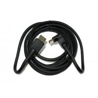 Шнур штекер HDMI (угловой) - штекер HDMI (угловой) (3м)