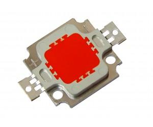 Светодиод ARPL-10W-RED (красный, 10Вт)