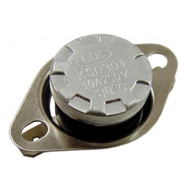 Термостат биметаллический KSD301-080H (10А; 80°C)