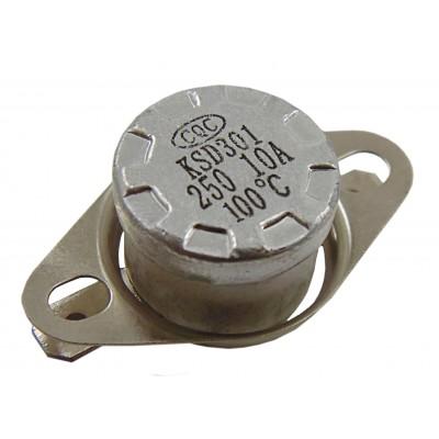 Термостат биметаллический KSD301-100H (10А; 100°C)