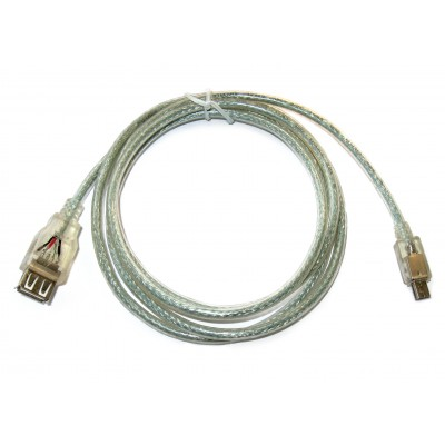 Шнур гнездо USB-A - штекер mini USB 5pin (1,2м)