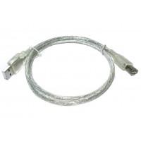 Шнур штекер USB-A - гнездо USB-A (удлинитель, 0,8м)