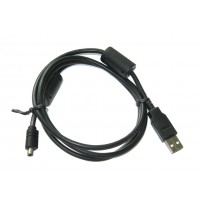 Шнур штекер USB-A - штекер mini USB 8pin (2 фильтра, 1,2м)