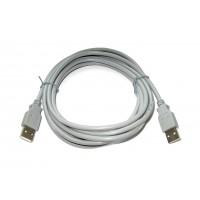 Шнур штекер USB-A - штекер USB-A (3,0м)