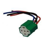 Колодка пластмассовая под автомобильное реле 4120 (5 контактов, с кабелем) PRE0008