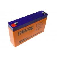 Аккумулятор свинцовый Delta DTM607 (6В; 7Ач)